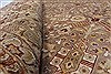 Isfahan Beige Hand Knotted 80 X 101  Area Rug 250-26935 Thumb 2