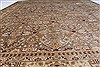 Isfahan Beige Hand Knotted 80 X 101  Area Rug 250-26935 Thumb 5