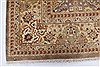 Isfahan Beige Hand Knotted 80 X 101  Area Rug 250-26935 Thumb 8
