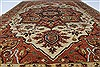 Serapi Brown Hand Knotted 61 X 810  Area Rug 250-26937 Thumb 3