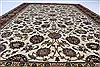 Isfahan White Hand Knotted 510 X 88  Area Rug 250-26938 Thumb 2