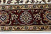 Isfahan White Hand Knotted 510 X 88  Area Rug 250-26938 Thumb 3
