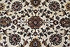 Isfahan White Hand Knotted 510 X 88  Area Rug 250-26938 Thumb 4