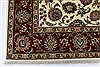 Isfahan White Hand Knotted 510 X 88  Area Rug 250-26938 Thumb 5