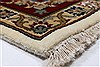 Isfahan White Hand Knotted 510 X 88  Area Rug 250-26938 Thumb 6