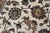 Isfahan White Hand Knotted 510 X 88  Area Rug 250-26938 Thumb 7