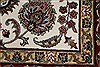 Isfahan White Hand Knotted 510 X 88  Area Rug 250-26938 Thumb 8