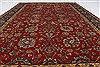 Isfahan Red Hand Knotted 60 X 811  Area Rug 250-26953 Thumb 4