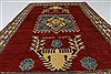 Kazak Red Hand Knotted 44 X 67  Area Rug 250-26997 Thumb 1