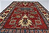 Kazak Red Hand Knotted 43 X 610  Area Rug 250-26999 Thumb 4
