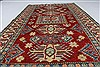 Kazak Red Hand Knotted 43 X 76  Area Rug 250-27001 Thumb 4
