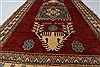 Kazak Red Hand Knotted 41 X 70  Area Rug 250-27006 Thumb 3