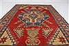 Kazak Red Hand Knotted 42 X 66  Area Rug 250-27012 Thumb 3