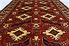 Kazak Red Hand Knotted 51 X 67  Area Rug 250-27013 Thumb 3