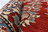 Kazak Red Hand Knotted 311 X 66  Area Rug 250-27022 Thumb 1
