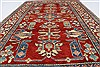 Kazak Red Hand Knotted 311 X 66  Area Rug 250-27022 Thumb 4