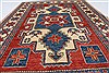 Kazak Red Hand Knotted 42 X 64  Area Rug 250-27024 Thumb 4