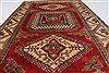 Kazak Red Hand Knotted 43 X 610  Area Rug 250-27030 Thumb 3