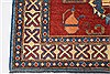 Kazak Red Hand Knotted 45 X 64  Area Rug 250-27032 Thumb 5