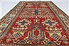 Kazak Red Hand Knotted 310 X 72  Area Rug 250-27040 Thumb 4