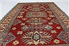 Kazak Red Hand Knotted 44 X 70  Area Rug 250-27048 Thumb 3