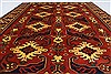 Kazak Red Hand Knotted 51 X 68  Area Rug 250-27050 Thumb 3