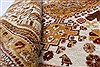 Gabbeh Beige Hand Knotted 56 X 77  Area Rug 250-27058 Thumb 3