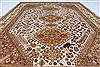 Gabbeh Beige Hand Knotted 56 X 77  Area Rug 250-27058 Thumb 6