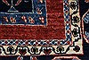 Gabbeh Blue Hand Knotted 46 X 610  Area Rug 250-27075 Thumb 8