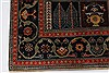 Gabbeh Multicolor Hand Knotted 51 X 71  Area Rug 250-27080 Thumb 6