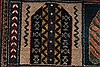 Gabbeh Multicolor Hand Knotted 51 X 71  Area Rug 250-27080 Thumb 8