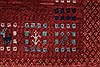 Gabbeh Red Hand Knotted 50 X 66  Area Rug 250-27082 Thumb 12