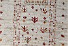 Gabbeh Beige Hand Knotted 48 X 64  Area Rug 250-27084 Thumb 10