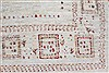 Gabbeh Beige Hand Knotted 48 X 64  Area Rug 250-27084 Thumb 11