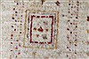 Gabbeh Beige Hand Knotted 48 X 64  Area Rug 250-27084 Thumb 9