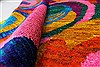 Modern Multicolor Hand Knotted 50 X 73  Area Rug 250-27101 Thumb 1