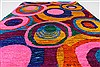 Modern Multicolor Hand Knotted 50 X 73  Area Rug 250-27101 Thumb 4