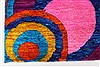 Modern Multicolor Hand Knotted 50 X 73  Area Rug 250-27101 Thumb 7
