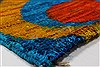 Modern Multicolor Hand Knotted 50 X 73  Area Rug 250-27101 Thumb 8