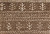 Gabbeh Beige Hand Knotted 50 X 72  Area Rug 250-27106 Thumb 8