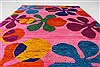 Modern Multicolor Hand Knotted 410 X 69  Area Rug 250-27107 Thumb 3