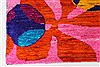Modern Multicolor Hand Knotted 410 X 69  Area Rug 250-27107 Thumb 6