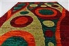 Modern Green Hand Knotted 50 X 74  Area Rug 250-27110 Thumb 3