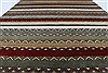 Modern Multicolor Hand Knotted 51 X 71  Area Rug 250-27125 Thumb 3