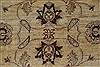 Pishavar Beige Hand Knotted 53 X 65  Area Rug 250-27143 Thumb 7