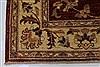 Pishavar Beige Hand Knotted 49 X 66  Area Rug 250-27146 Thumb 7