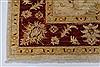Pishavar Beige Hand Knotted 52 X 64  Area Rug 250-27151 Thumb 8
