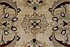 Pishavar Beige Hand Knotted 51 X 68  Area Rug 250-27155 Thumb 8