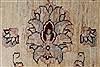Pishavar Beige Hand Knotted 411 X 68  Area Rug 250-27163 Thumb 10