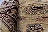 Pishavar Beige Hand Knotted 411 X 68  Area Rug 250-27163 Thumb 1